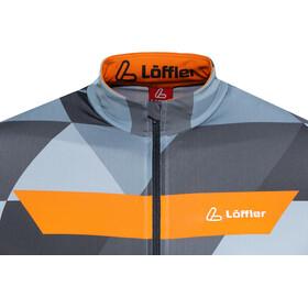 Löffler Metric Bike Trikot Full-Zip Herren orange